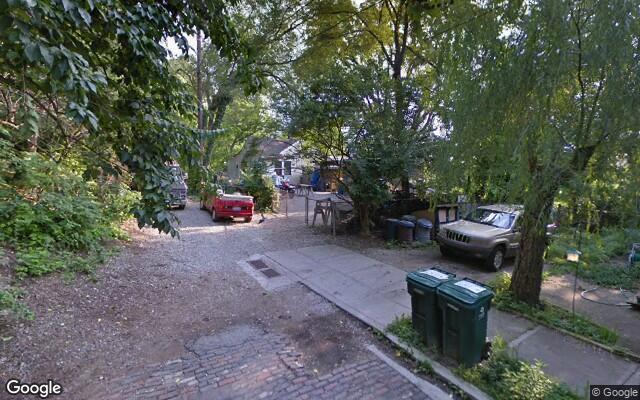 parking on Sauer Avenue in Cincinnati