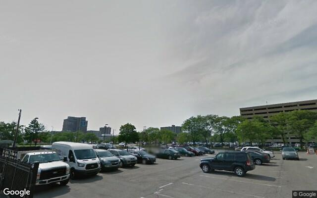 parking on West Grand Boulevard in Detroit