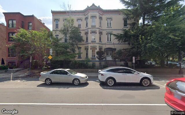 parking on 15th Street Northwest in Washington