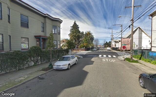 parking on 34th Street in Oakland