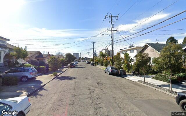 parking on 61st Street in Oakland