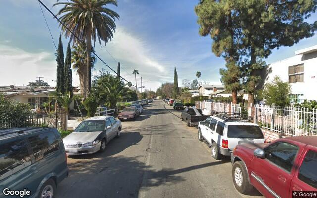 parking on Albers Street in North Hollywood