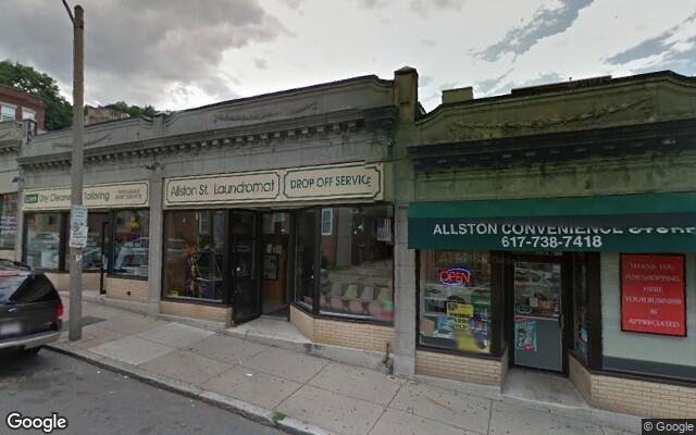 parking on Allston St in Boston