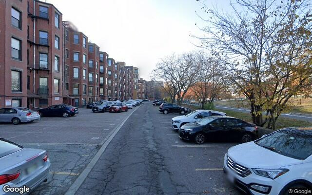 parking on Bay State Road in Boston