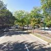 Outdoor lot parking on Beacon Street in Brookline