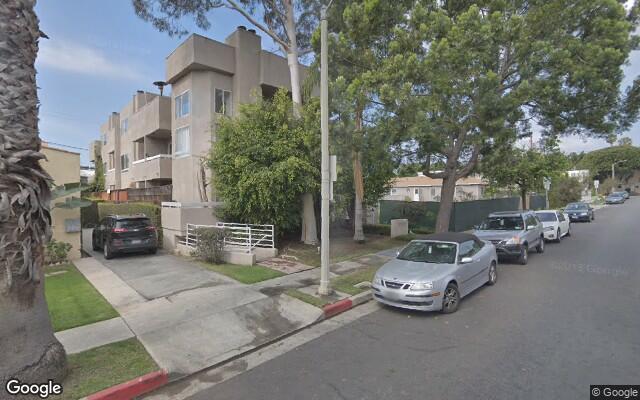 parking on Berkeley St in Santa Monica