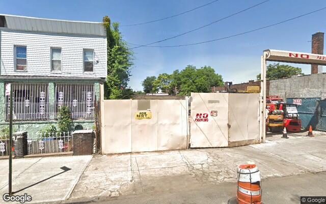 parking on Berriman St in Brooklyn
