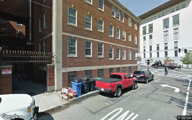 parking on Bowker Street in Boston