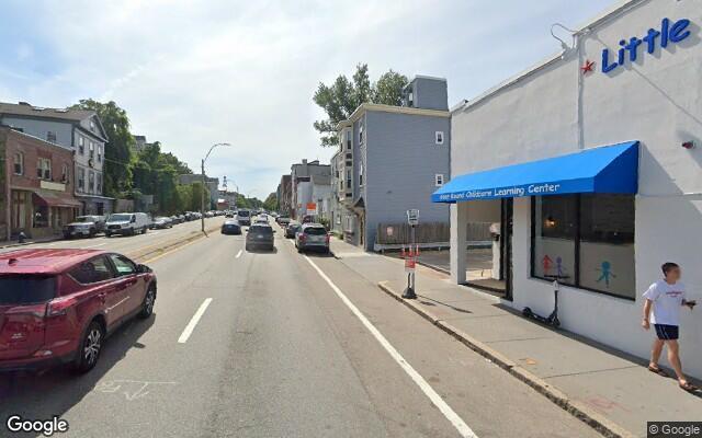 parking on Boylston Street in Brookline