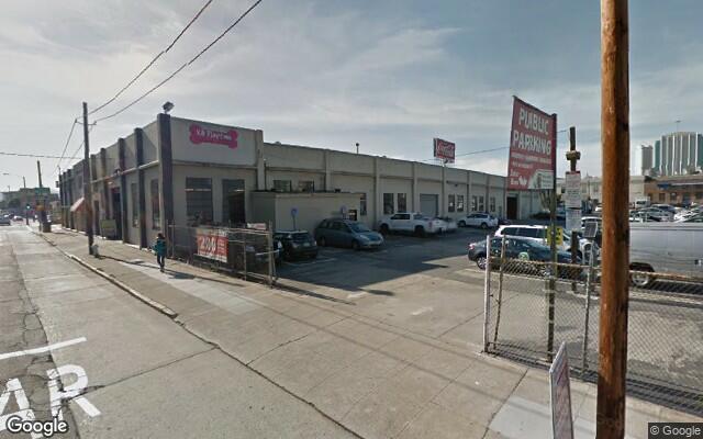 parking on Brannan St in San Francisco