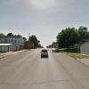 Garage parking on Central Avenue in Nebraska City