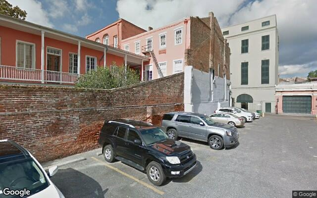 parking on Chartres Street in New Orleans