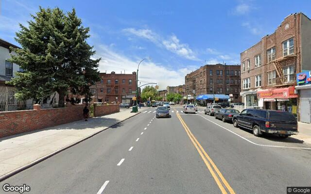 parking on Church Ave in Brooklyn
