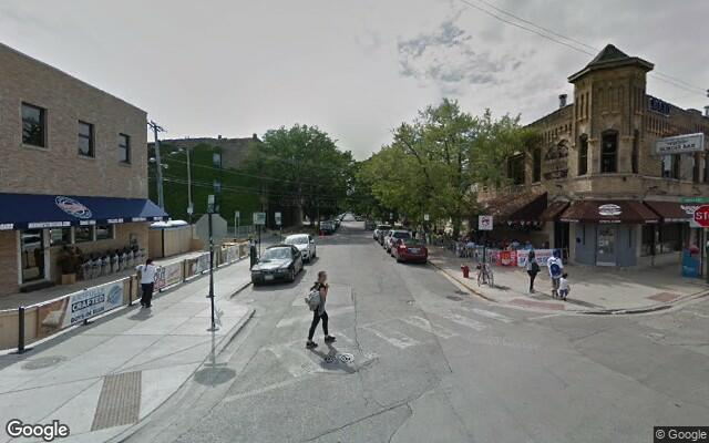 parking on Clark St in Chicago