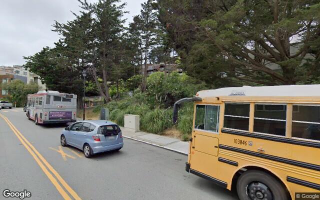 parking on Corbett Ave in San Francisco