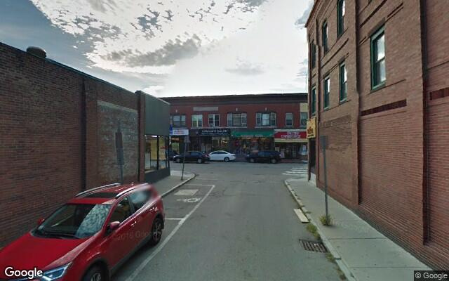 parking on Cushing St in Waltham