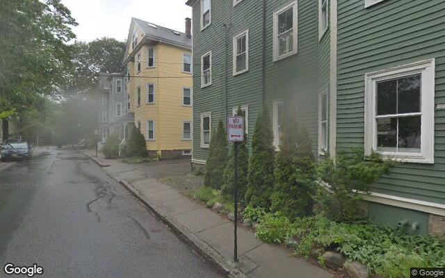 parking on Cypress Street in Brookline