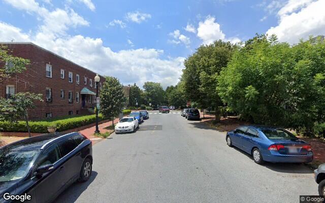 parking on D Street Southeast in Washington