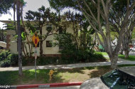 parking on De Longpre Avenue in Los Angeles