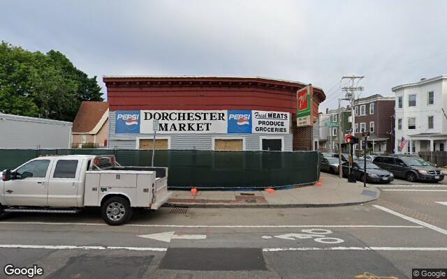parking on Dorchester Avenue in Dorchester