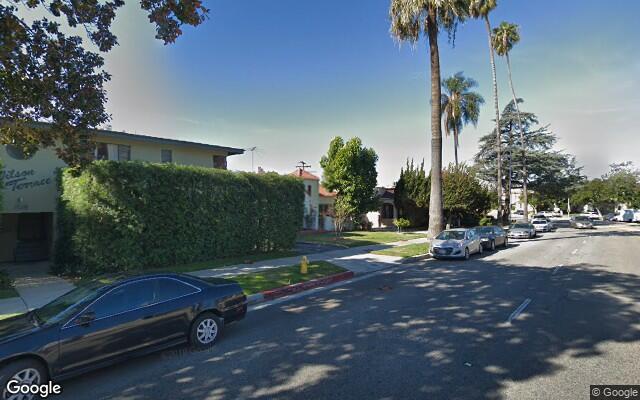 parking on E Wilson Ave in Glendale