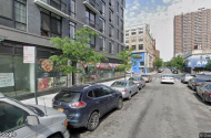 parking on East 121st Street in New York City