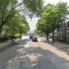 Outdoor lot parking on East 55th Street in Chicago
