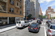 parking on East 63rd St in New York