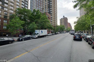 parking on East 95th St in New York