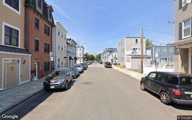 parking on East Second Street in Boston