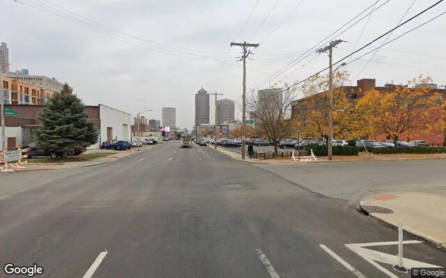 parking on East Spring Street in Columbus