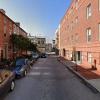 Garage parking on East Wheeling Street in Baltimore