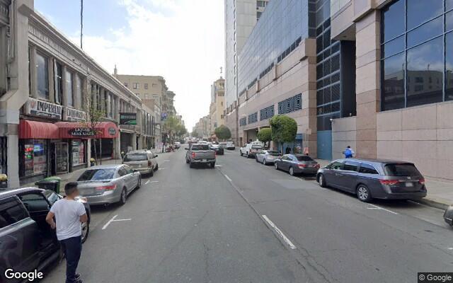 parking on Ellis Street in San Francisco