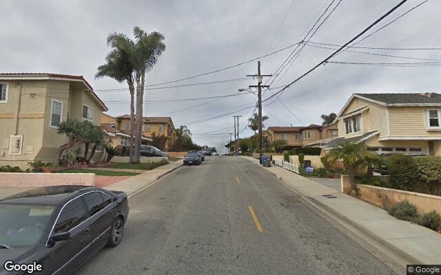 parking on Ernest Ave in Redondo Beach