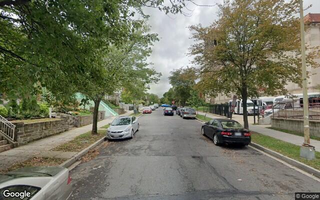 parking on Fairmont Street Northwest in Washington