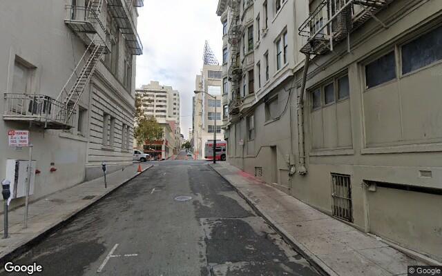parking on Fern St in San Francisco