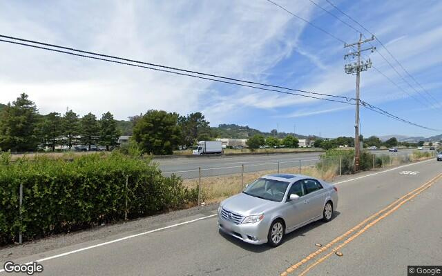 parking on Francisco Boulevard East in San Rafael
