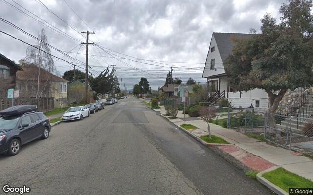 parking on Francisco St.  Berkeley California in North Berkeley