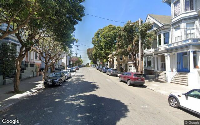 parking on Downey St in San Francisco