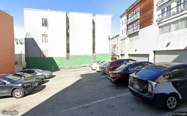 parking on Fresno Street in San Francisco