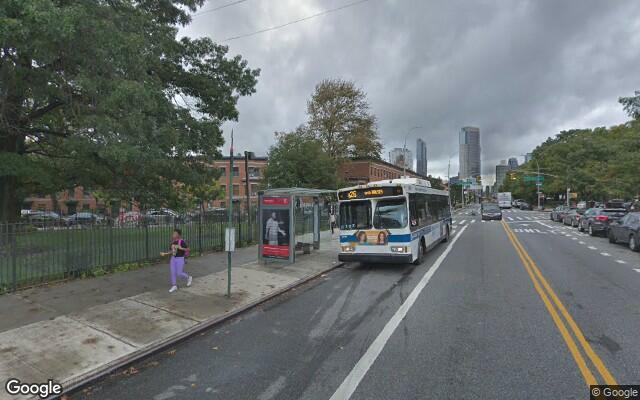 parking on Fulton St in Brooklyn