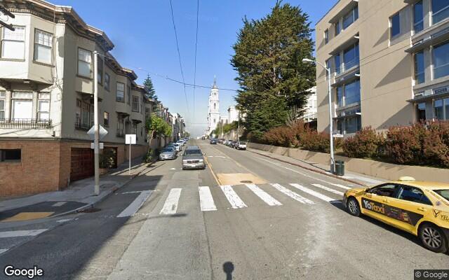 parking on Fulton St & Clayton St in San Francisco