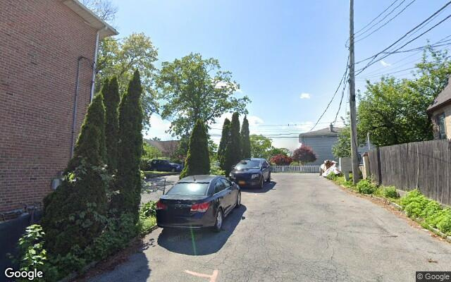 parking on Gibson Place in Yonkers