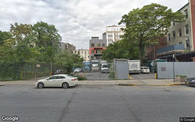 parking on Gold Street in Brooklyn