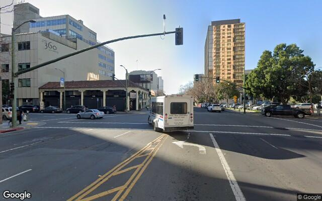 parking on Grand Avenue in Oakland