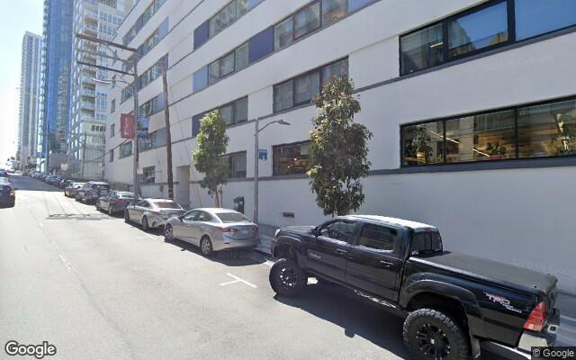 parking on Harrison St in San Francisco
