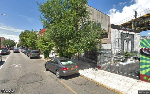 parking on Hart St in Brooklyn