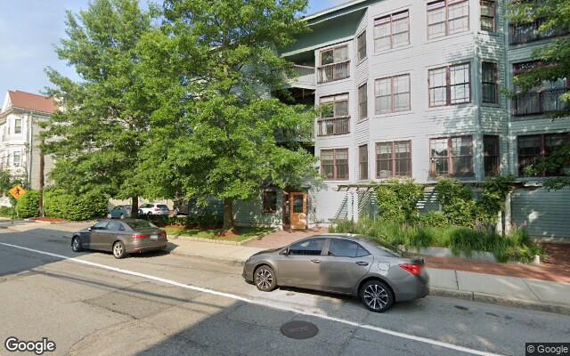parking on High Street in Brookline