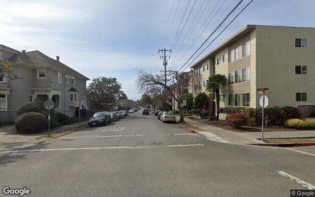 parking on Hillegass Ave in Berkeley