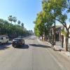Garage parking on Hollywood Boulevard in Los Angeles
